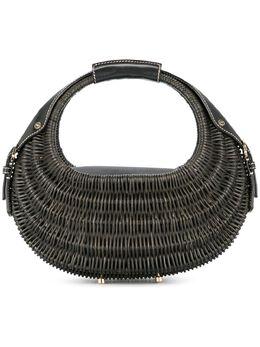 Salvatore Ferragamo Pre-Owned сумка плетеного дизайна DV213401