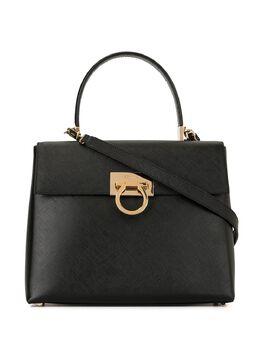 Salvatore Ferragamo Pre-Owned сумка на плечо с декором Gancini AF210290
