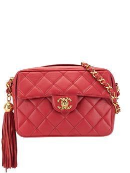 Chanel Pre-Owned сумка через плечо с кисточкой 9576OT