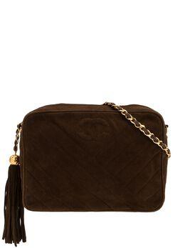 Chanel Pre-Owned сумка на плечо с декоративной строчкой 2935369