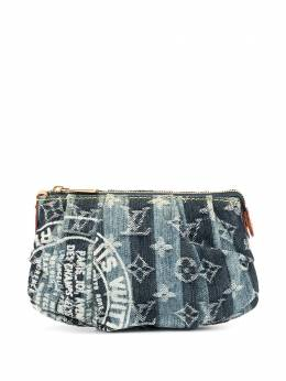 Louis Vuitton клатч Trousse Raye pre-owned M95335