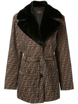 Fendi Pre-Owned куртка с длинными рукавами 2453346066960