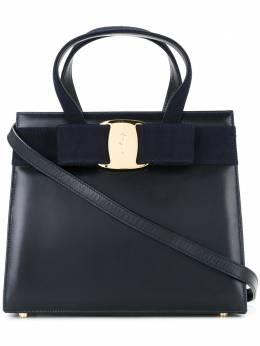 Salvatore Ferragamo Pre-Owned сумка 'Vara' с бантом BA21417832327700