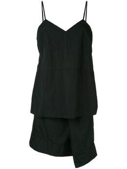 Comme Des Garcons Pre-Owned многослойное платье-комбинация асимметричного кроя GO04002M