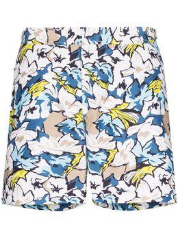 Orlebar Brown плавки-шорты Bulldog South Beach с цветочным принтом 272124