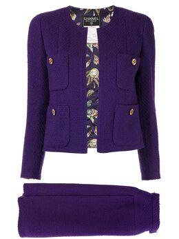 Chanel Pre-Owned костюм-двойка с юбкой 20650