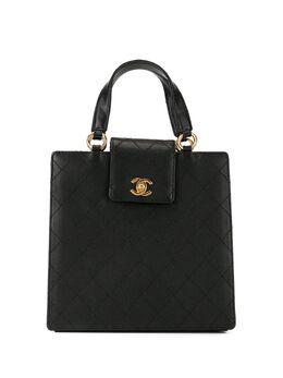 Chanel Pre-Owned стеганая сумка-тоут 1998-го года с логотипом CC 5000299