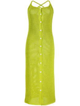 Sunnei трикотажное платье миди WDR01