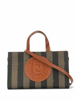 Fendi Pre-Owned сумка-тоут Pequin с принтом 579262780069