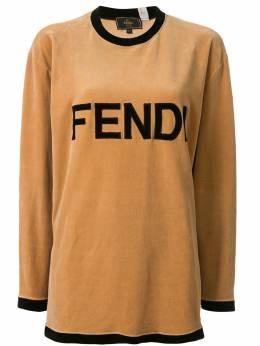 Fendi Pre-Owned футболка с логотипом 93798
