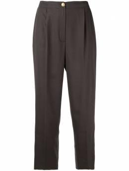 Chanel Pre-Owned укороченные брюки строгого кроя 1996-го года 96AP08300V05069AB116