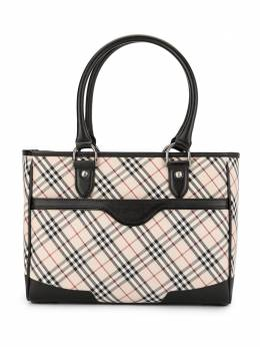 Burberry Pre-Owned сумка-тоут в клетку Classic Check RTM1816739