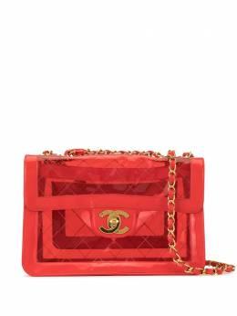 Chanel Pre-Owned стеганая сумка на плечо с цепочкой 35