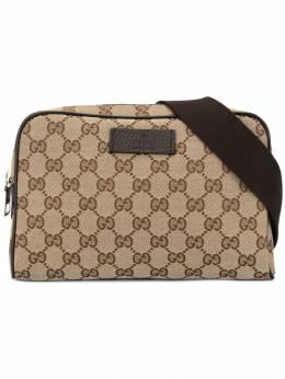 Gucci Pre-Owned поясная сумка с узором GG 449174486628