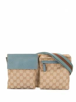 Gucci Pre-Owned поясная сумка с узором GG 28566497717