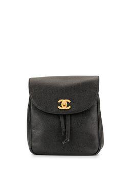Chanel Pre-Owned рюкзак 1995-го года с логотипом CC 3521478
