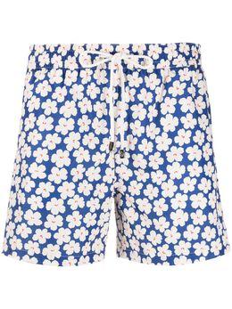 Borrelli плавки-шорты с цветочным принтом MB60B9019