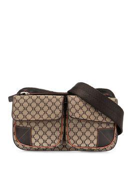 Celine Pre-Owned поясная сумка с узором Macadam ARS035