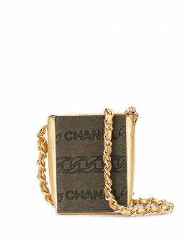 Chanel Pre-Owned мини-клатч с цепочкой 7070897