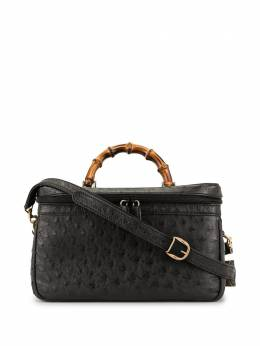Gucci Pre-Owned косметичка Bamboo Line с ручкой и ремнем 0132122049