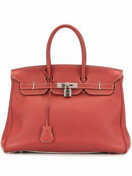 Hermes сумка-тоут Birkin 35 SQUAREO8NM