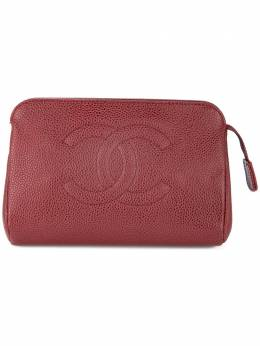 Chanel Pre-Owned косметичка с логотипом 6846328