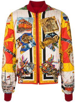 Hermes двусторонняя куртка-бомбер на молнии 100CIRCLEP