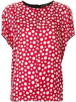 Louis Vuitton блузка в горох pre-owned ECCW08