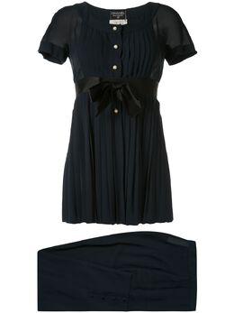 Chanel Pre-Owned блузка и брюки со складками 252809329C15