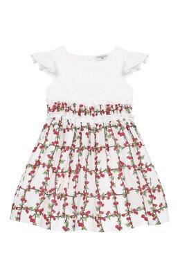 Хлопковое платье Monnalisa 115929