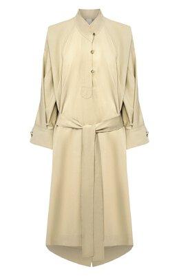 Платье из смеси хлопка и шелка Petar Petrov ANEL S20D9