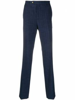 Brunello Cucinelli полосатые брюки строгого кроя MD476PA07C5188