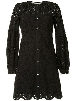 Veronica Beard платье Yana с вышивкой 2003EY0022821