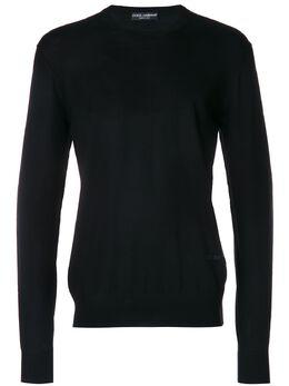 Dolce&Gabbana свитер с круглым вырезом GR018KF85F4