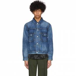 Visvim Blue 101 Denim Jacket 0120105006004