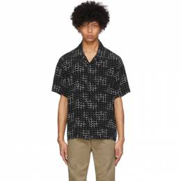 Visvim Black Free Edge Shirt 0120105011020