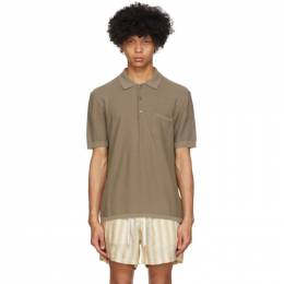 Tiger Of Sweden Brown Poplar Polo T68729002