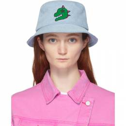 Sjyp Blue Denim Dino Bucket Hat PW2A3AHT019W