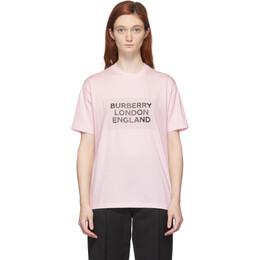 Burberry Pink Logo Ariana T-Shirt 8026882