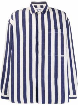 Sunnei полосатая рубашка оверсайз MS06BCR01