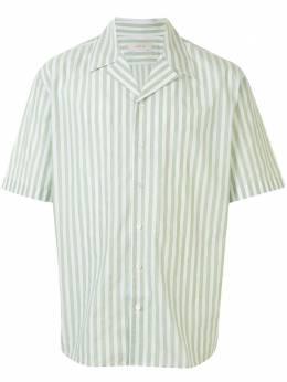 Cerruti 1881 полосатая рубашка с короткими рукавами C3966EO72046
