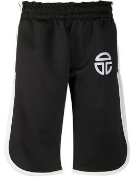 Telfar спортивные шорты с логотипом TR09