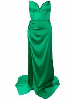 Giuseppe Di Morabito вечернее платье без бретелей 046LD64