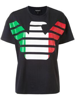 Emporio Armani футболка с принтом 3H2T9A2J91Z