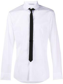 Neil Barrett рубашка с галстуком BCM1045CN033S