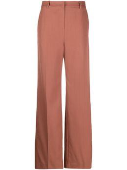 Yves Salomon расклешенные брюки с завышенной талией 20EYP013XXWOXW
