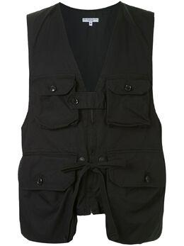 Engineered Garments жилет с карманами карго 20S1C007