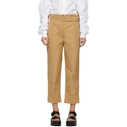 Simone Rocha Tan Paperbag Trousers 3430 0355 TRENCH