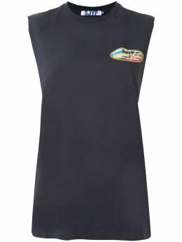 Sjyp футболка без рукавов с логотипом PW2A3WTS209W