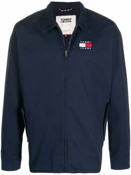 Tommy Jeans куртка на молнии с нашивкой-логотипом DM0DM07791